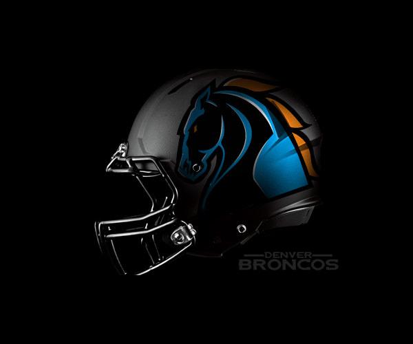 Denver Broncos Helmet Logo