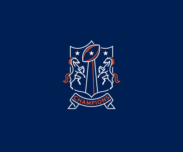 Denver broncos Bowl Logo