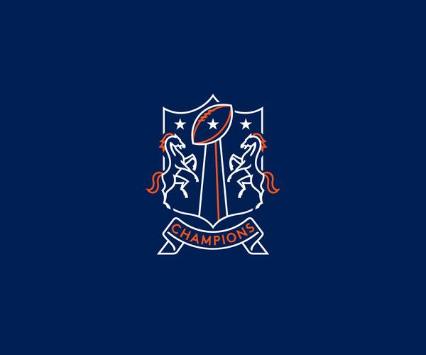 Denver broncos Bowl Logo