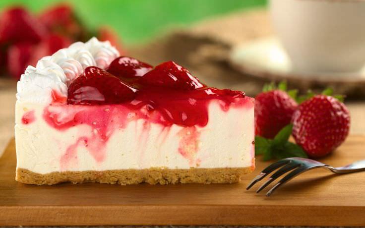 Desert Cake Piece Berries