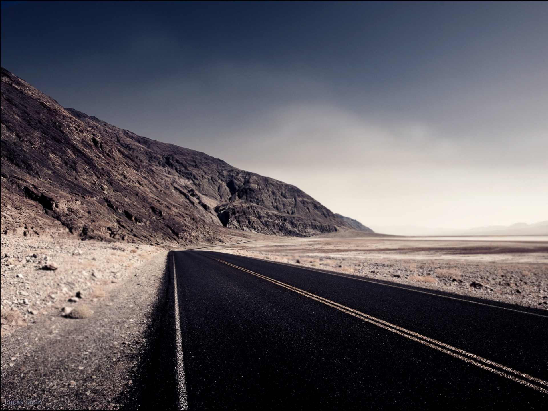 Desert Highway Road Wallpaper