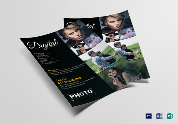 Photography Flyers  Psd Vector Eps Jpg Download  Freecreatives