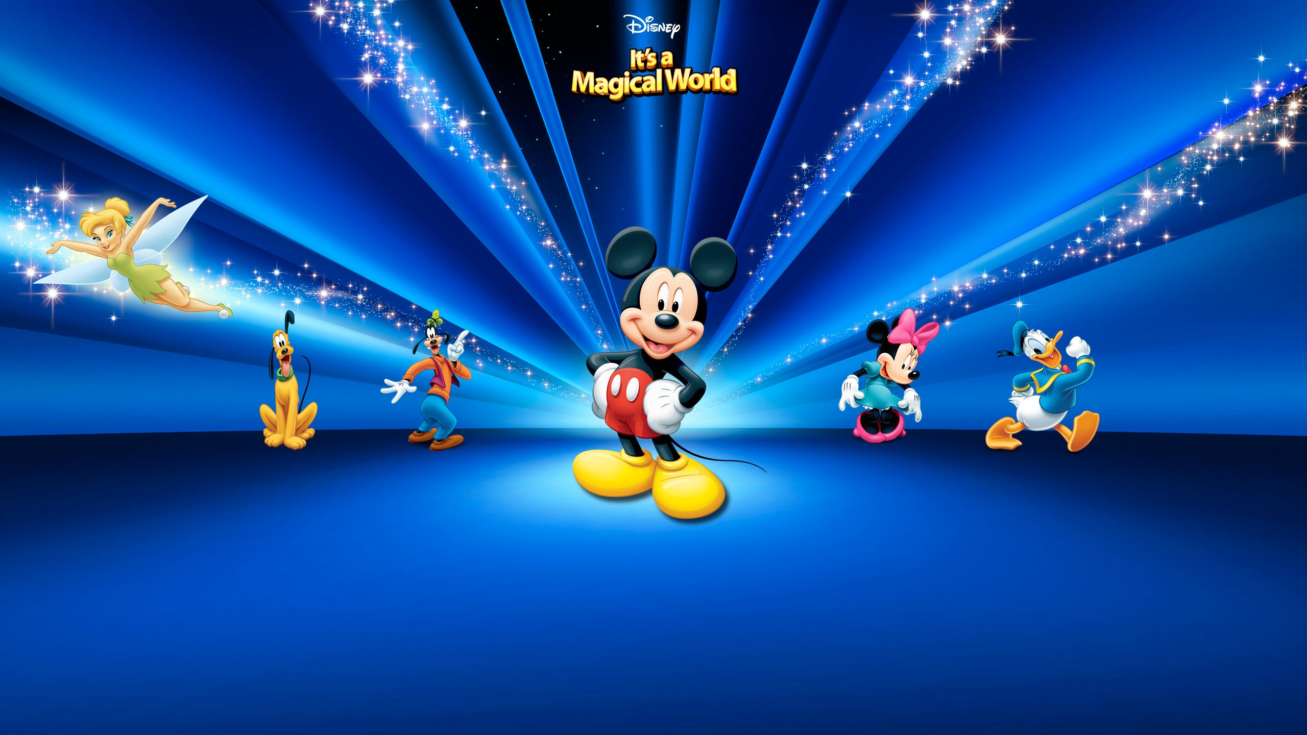 Disney Mickey Mouse World Wallpaper