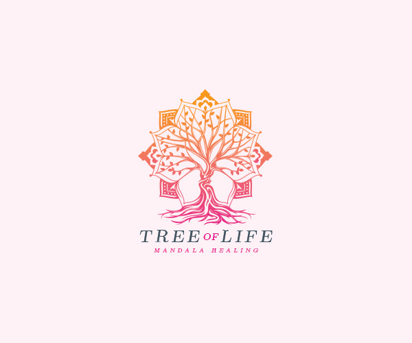 Distinctive Tree Mandala Logo