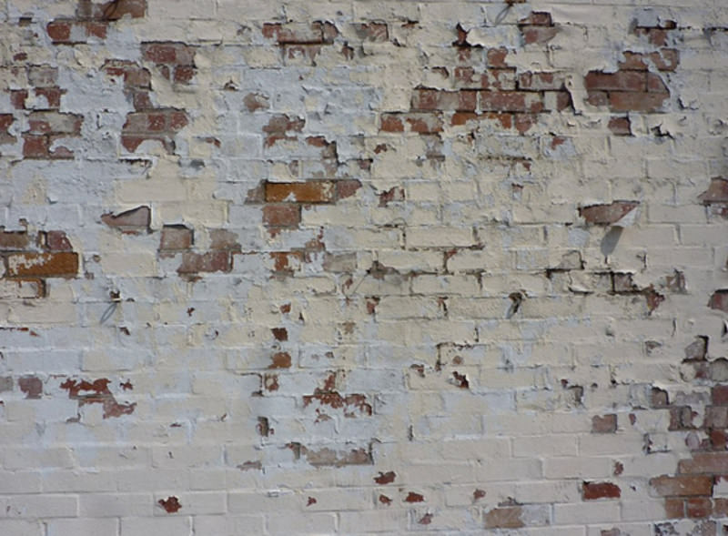 Distressed Brick Wall Wallpaper
