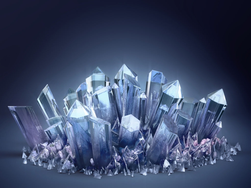 Download 3D Blue crystal