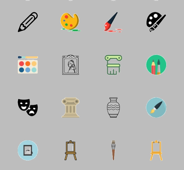 Download Art Icons For Free