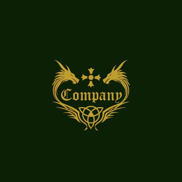 Download Dragon Heraldry Logo