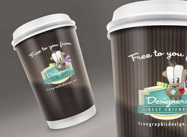 Download Free PSD Coffee Cup Design