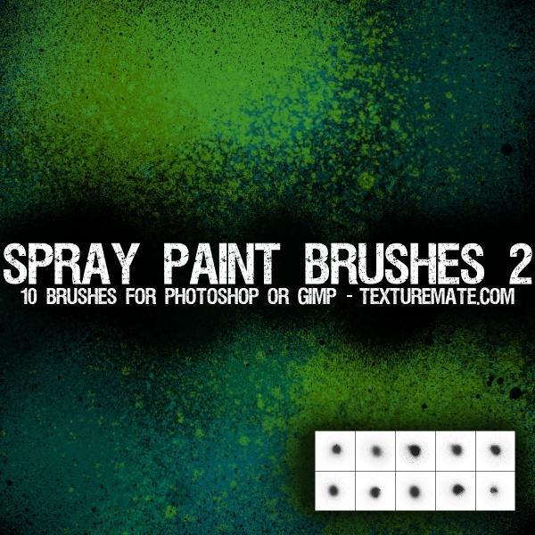 Download Free Spray Brushes