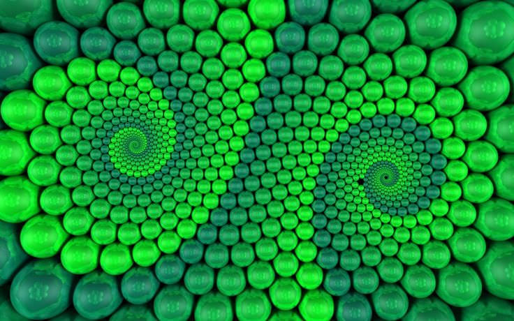 Download Green Abstract Patterns