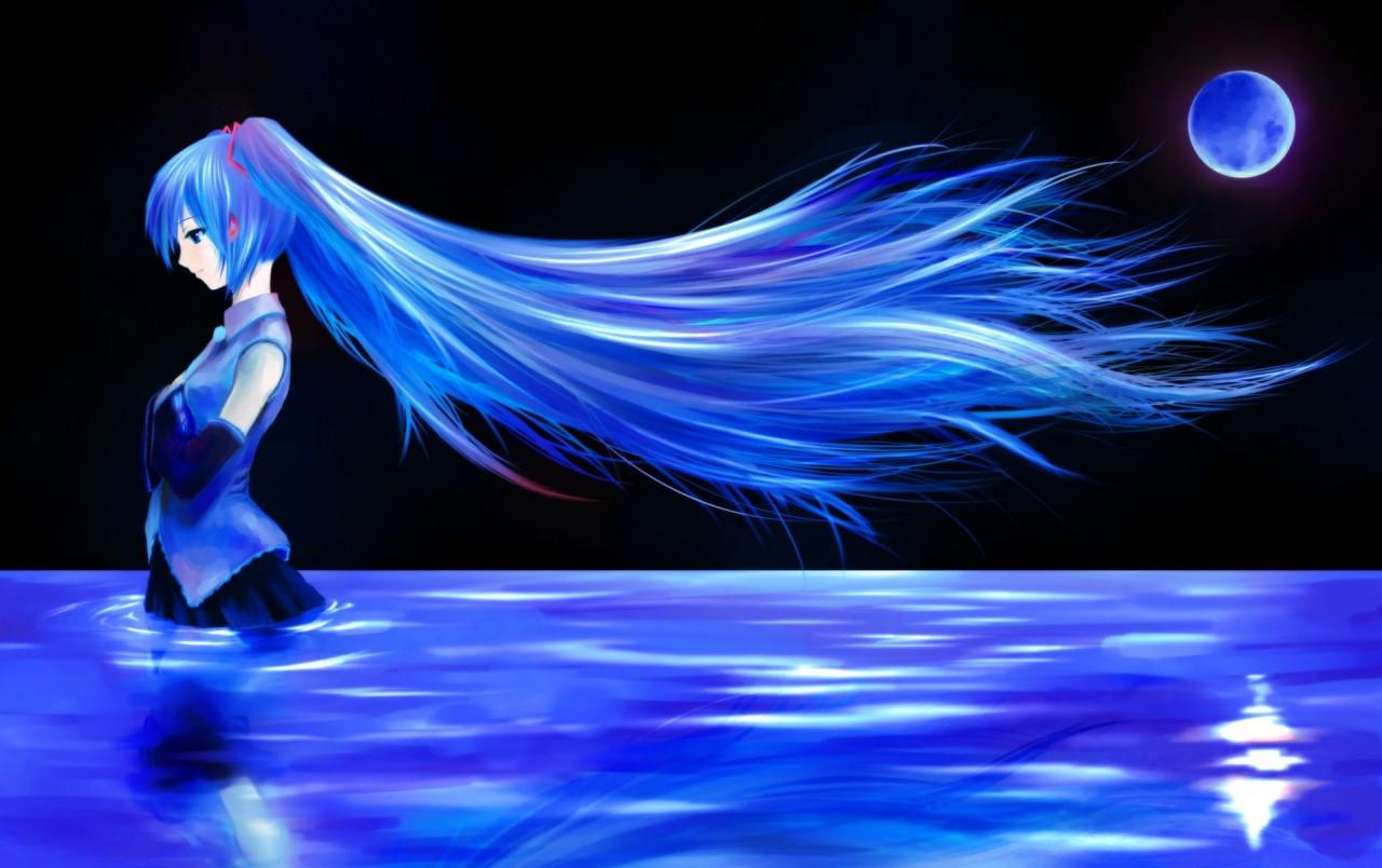 Download Icy Miku Wallpaper