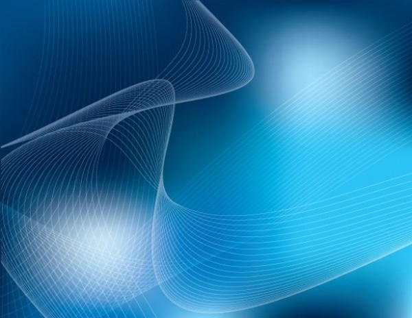 DreamBlue Wavy Background