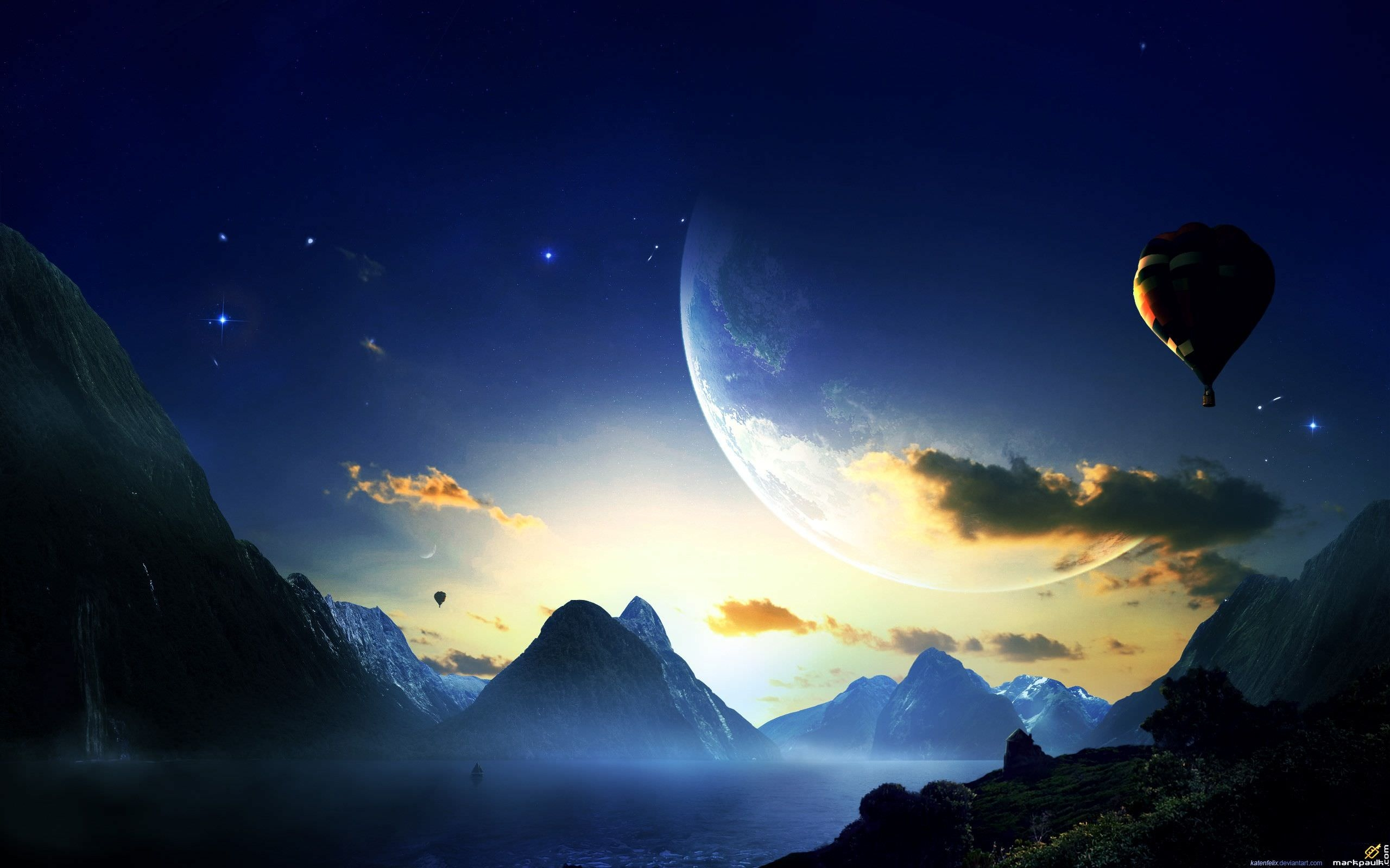 Dreamy & Fantasy World Wallpaper