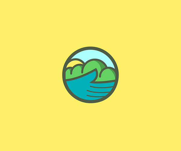 Dynamic Mother Nature Logo