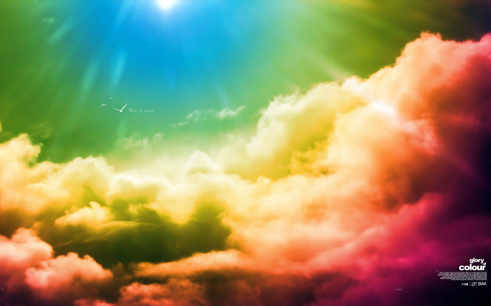 Earth Cloud Colors Wallpaper