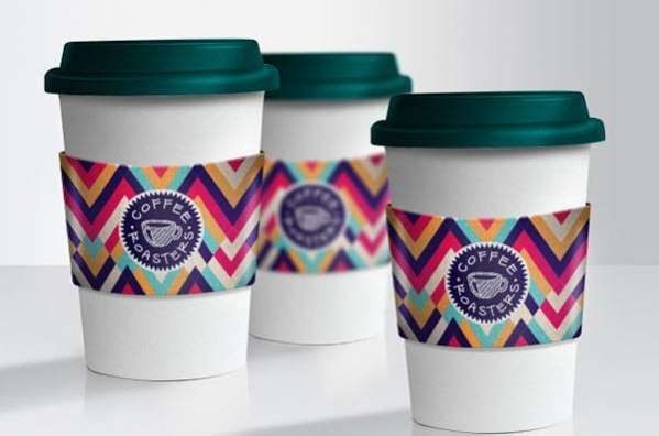 Eco-Friendly Free PSD Paper Coffee Cup Mockups
