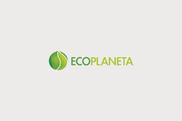 Eco Planet logo Design
