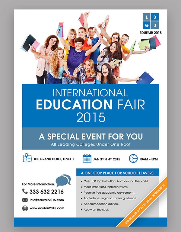 Education Job Fair Flyer Template