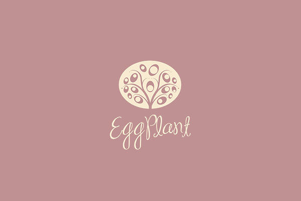 Egg Plant Logo Design For Download