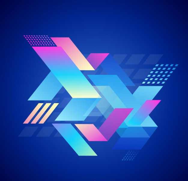 Elegant Abstract Geometric Background