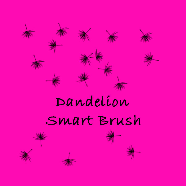Elegant Dandelion Smart Brushes