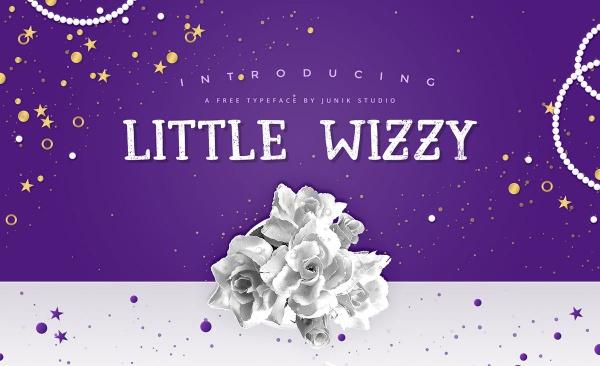 Elegant Little Wizzy Font