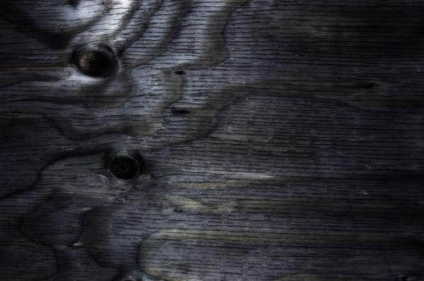 Elegant Wooden Black Texture
