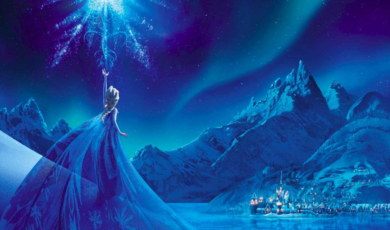 Elsa in Frozen Wallpaper