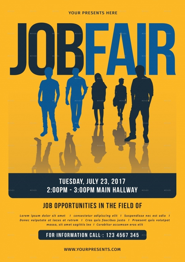 Employment Job Fair Flyer