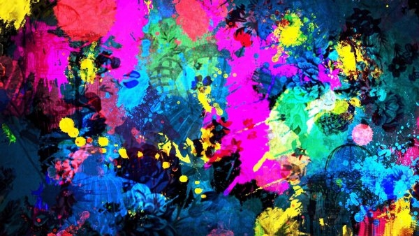 Extraordinary Abstract Art Wallpaper