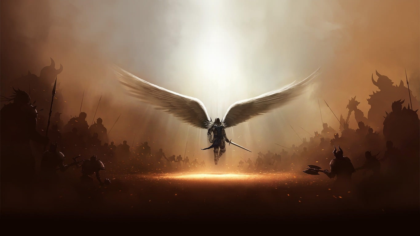 Extraordinary  Archangel Wallpaper