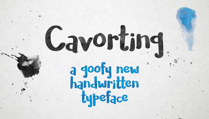 extraordinary reaction font