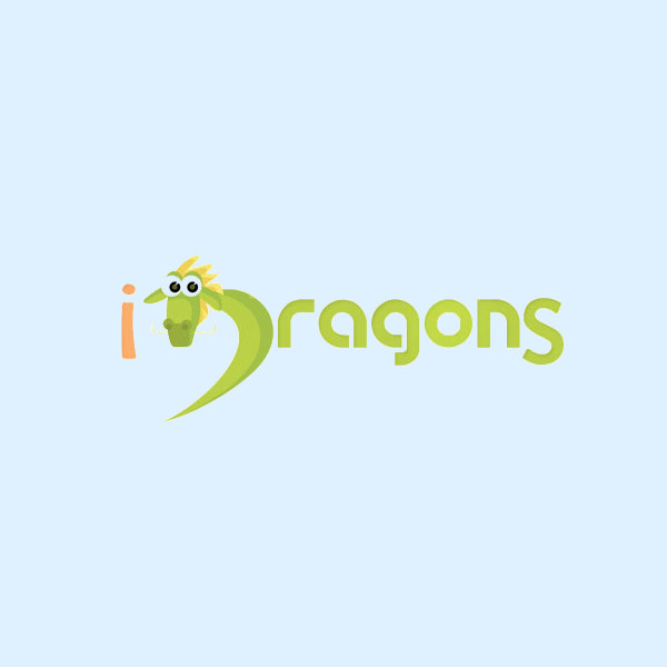 FClean Green Dragon Logo