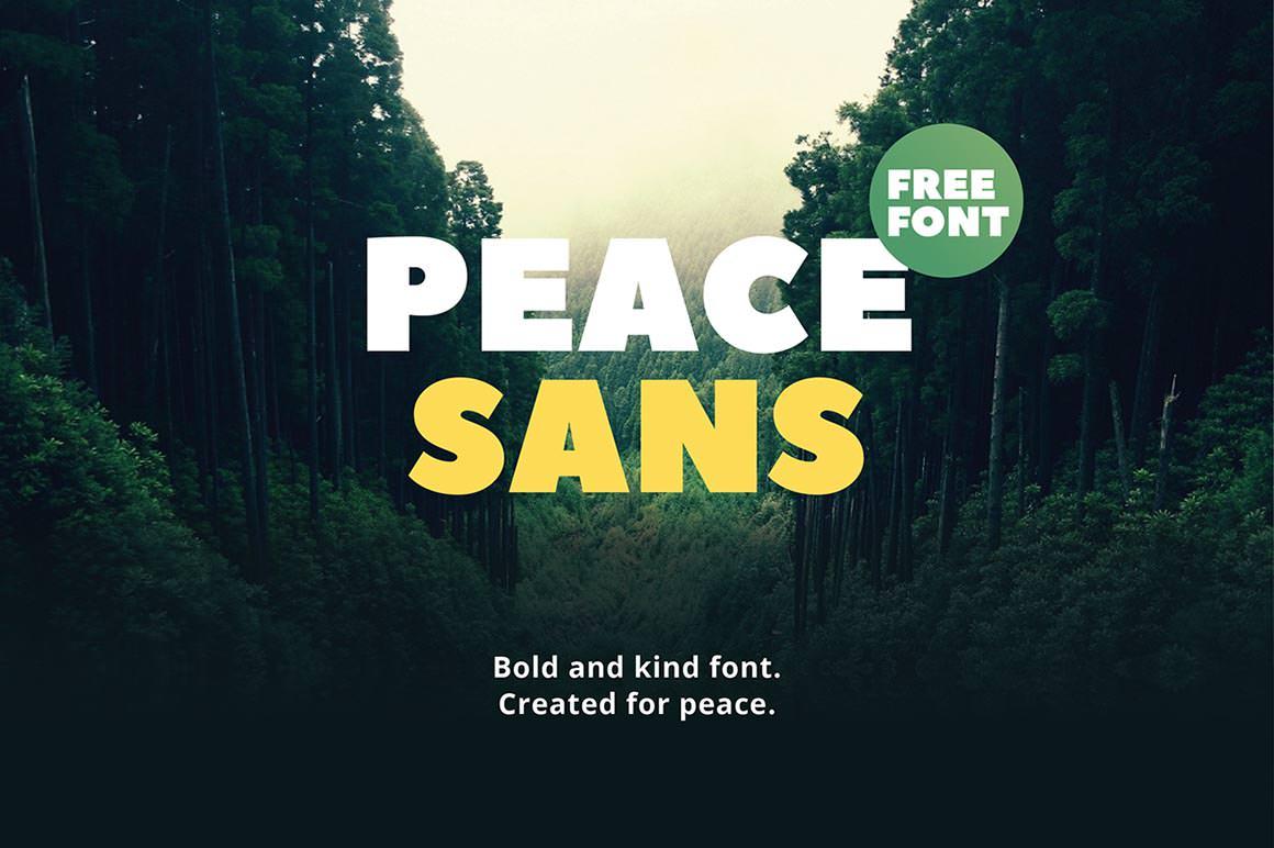 Fabulous Peace Sans Free font