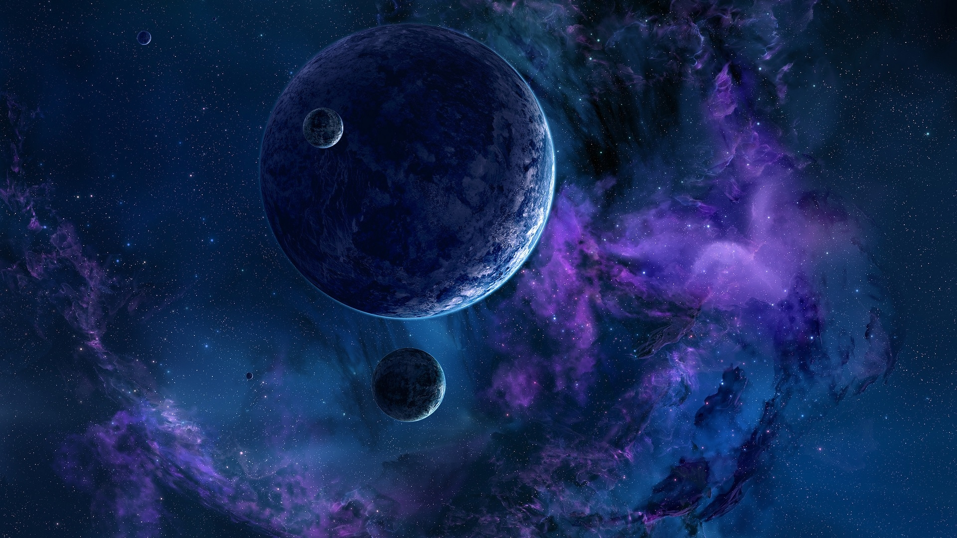 Fabulous Planets Wallpaper