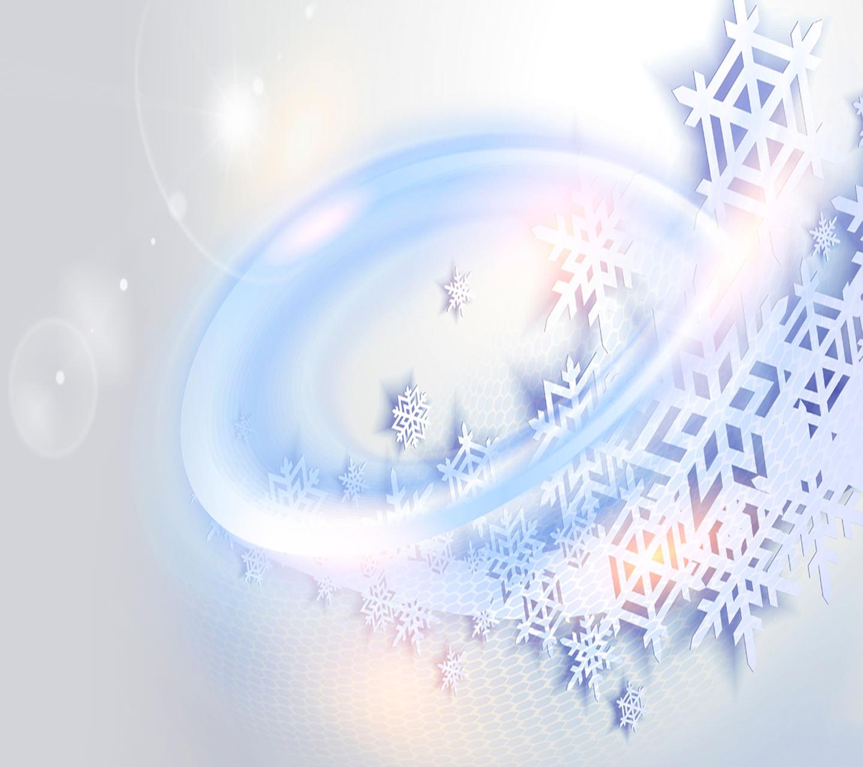 Fabulous Snowflakes Wallpaper