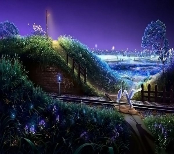 Fantastic Dream Land Wallpaper