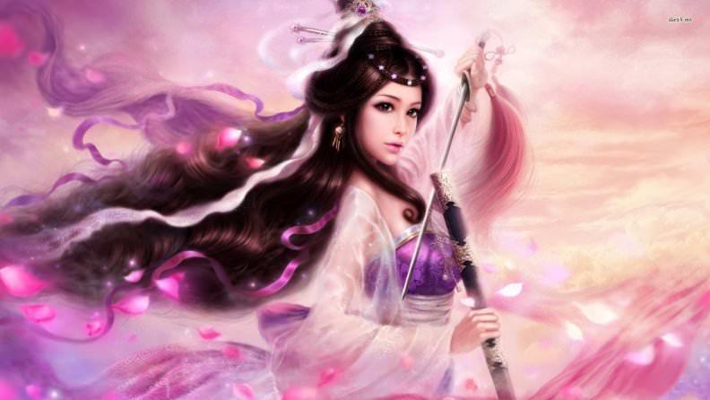 Fantastic Fantasy Girl Wallpaper