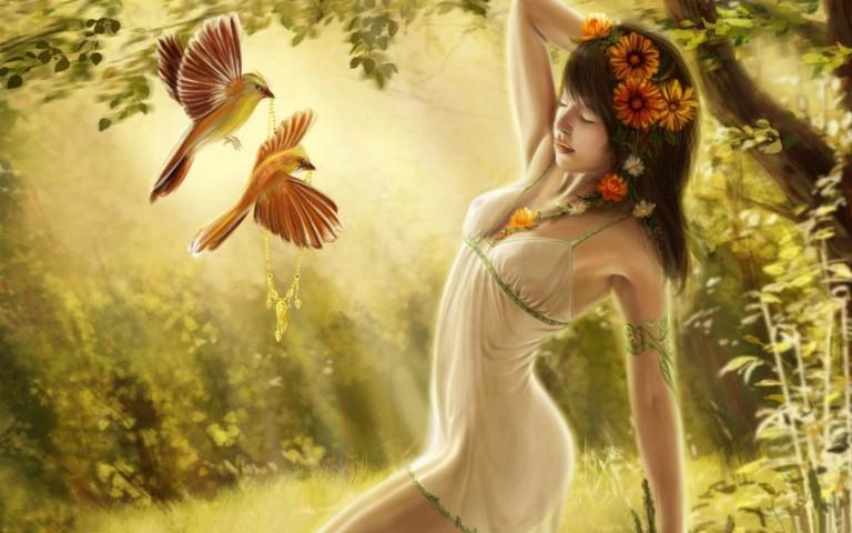 Fantasy Girl Wallpaper For Download