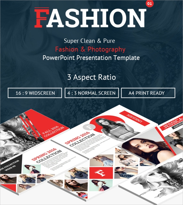 Fashion Photography Powerpoint Presentation