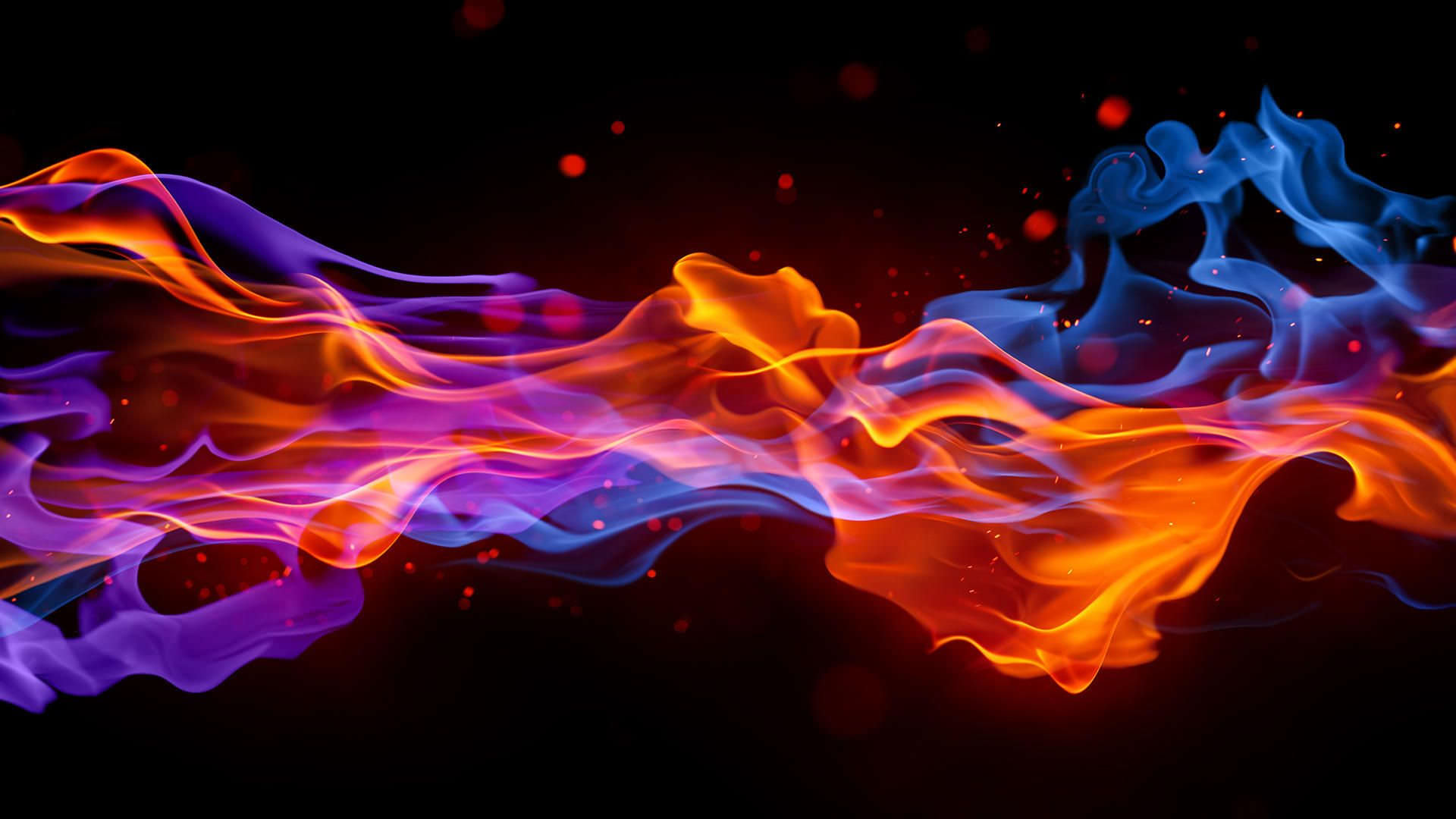 Fire Abstract Website Background