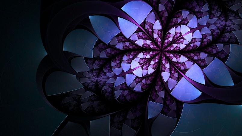 Flower Digital Art Wallpaper