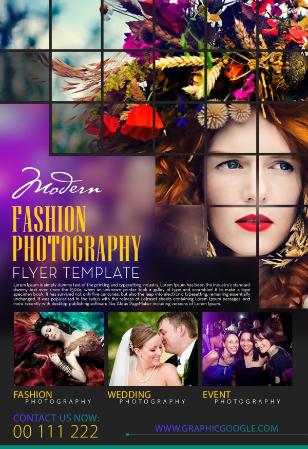 Photography Flyer Templates Photoshop I And Photography Workshop