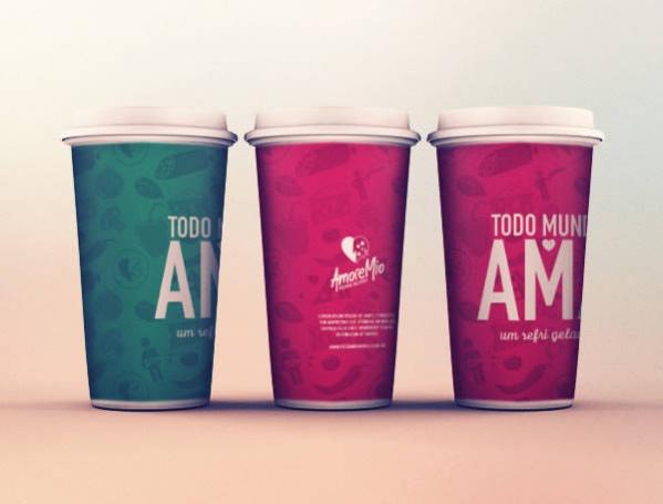 Free PSD Coffee Cup Mockups