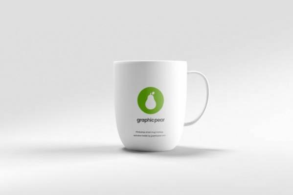 Free PSD Coffee Mug Mockup