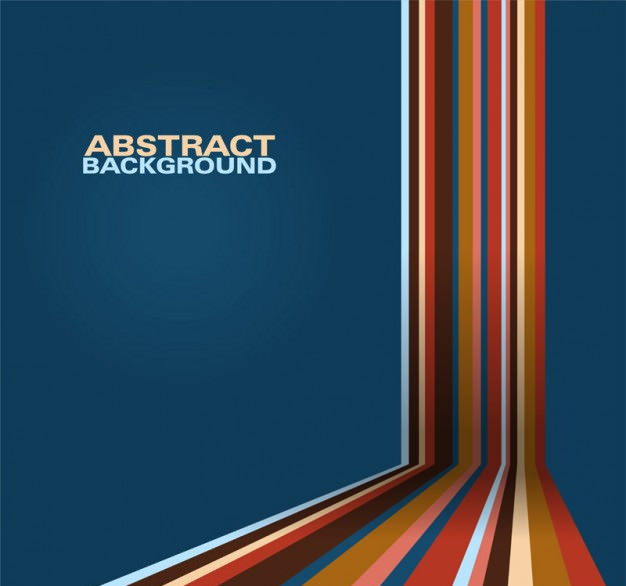 Free abstract geometric lines background