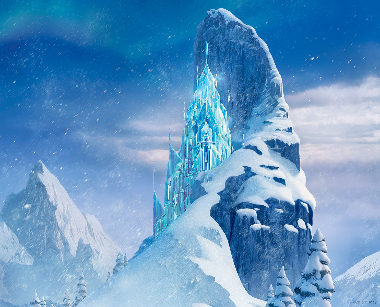 Frozen Icecastle Wallpaper