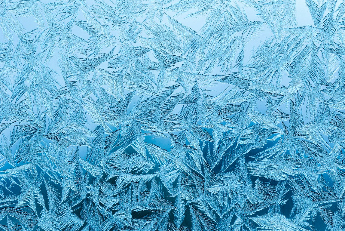 Frozen Window Wallpaper