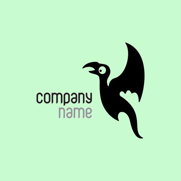 Funny Dragon Logo Design